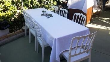 Tavoli E Sedie Pescara.Noleggio Affitto Tavoli Sedie Tovagliato Matrimonio Matrimoni